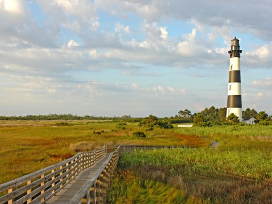 Cape Hatteras: The Bodie island lighthouse