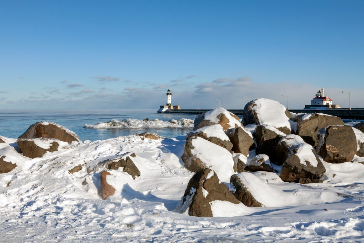 Duluth, Minnesota in Winter